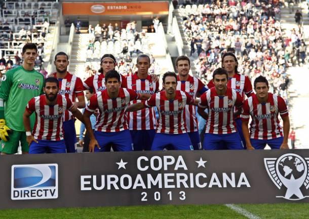 Mario Suárez resuelve con un golazo la alarmante falta de gol del Atlético de Madrid