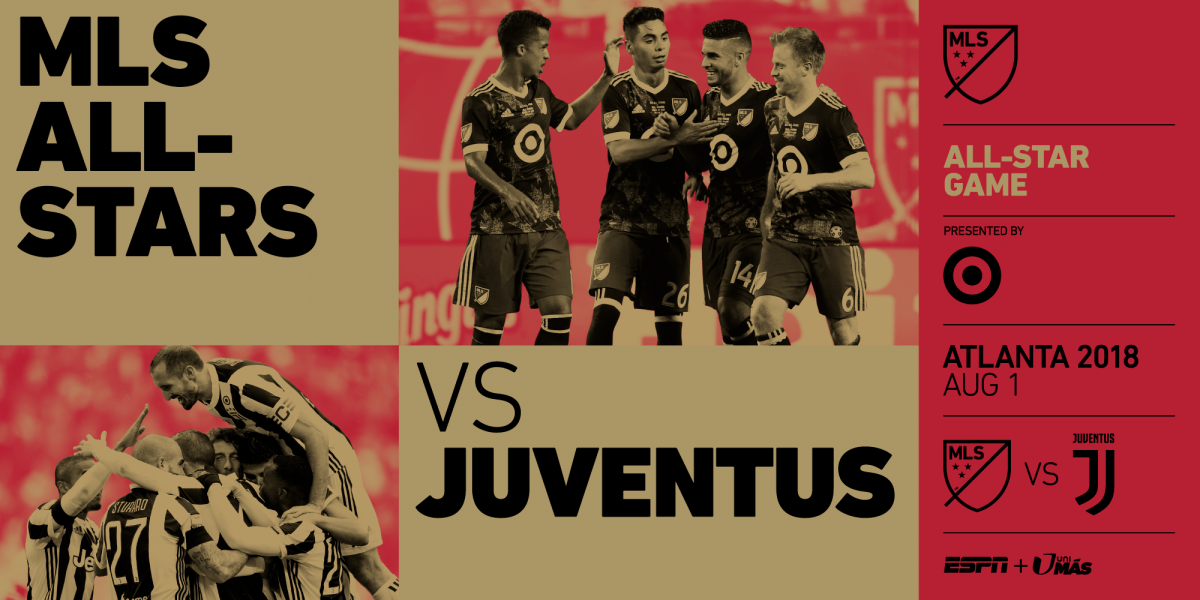 Juventus will play against MLS All-Stars
