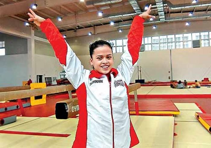 Gimnasia: Ariana Orrego logra histórica clasificación a Río 2016