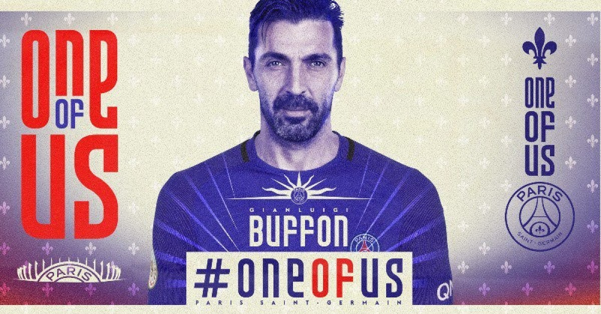 Buffon al Paris Saint-Germain, è ufficiale