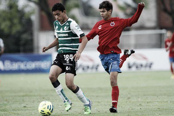 Veracruz y Santos empatan en el torneo sub 15