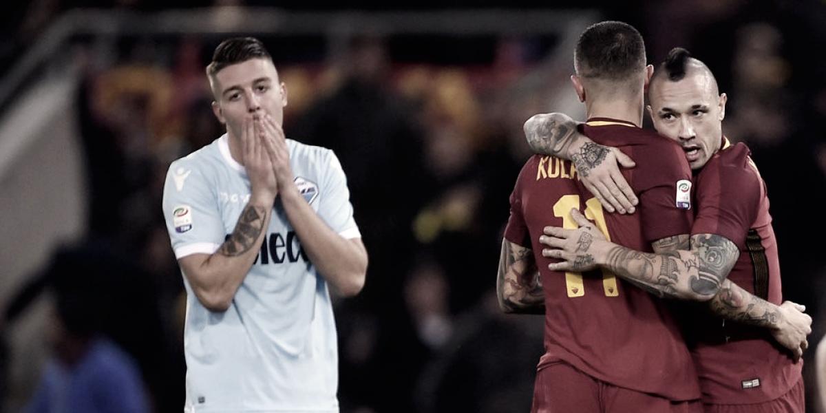 Roma y Lazio: como el día y la noche