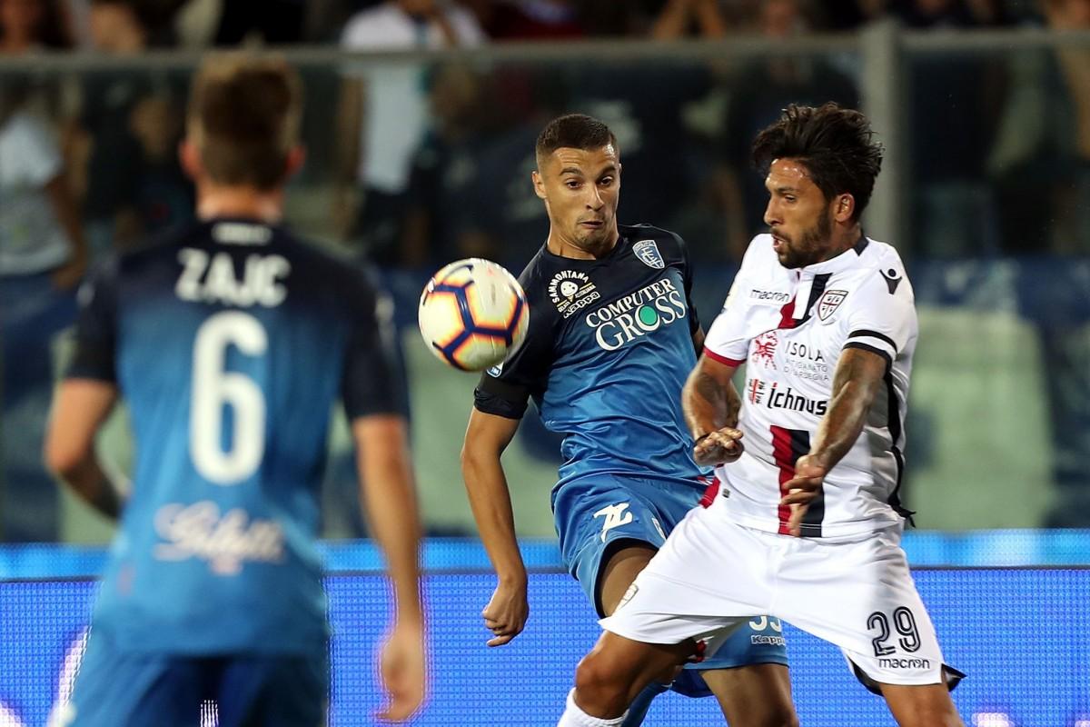 Serie A- L'Empoli parte bene e vince 2-0 sul Cagliari