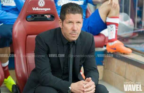 """Simeone: """"El equipo sigue compitiendo"""""""