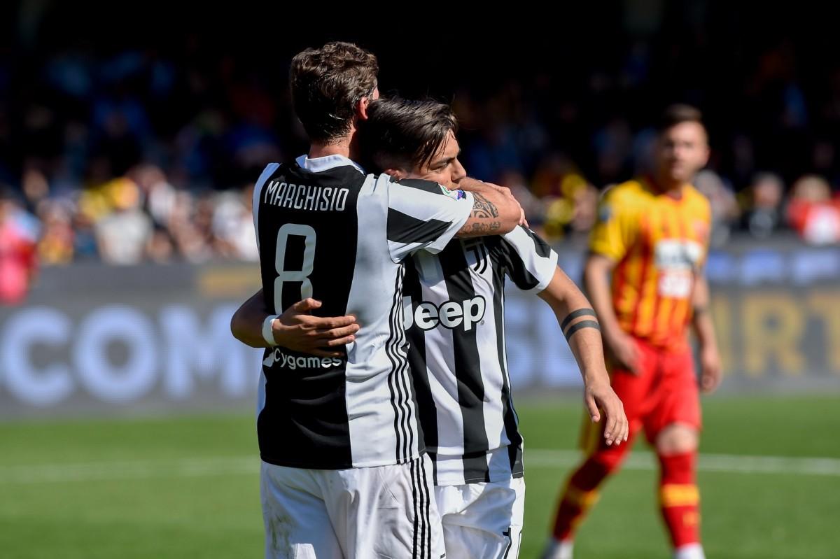 Juventus, poker al Benevento. Il commento di Dybala ed Allegri