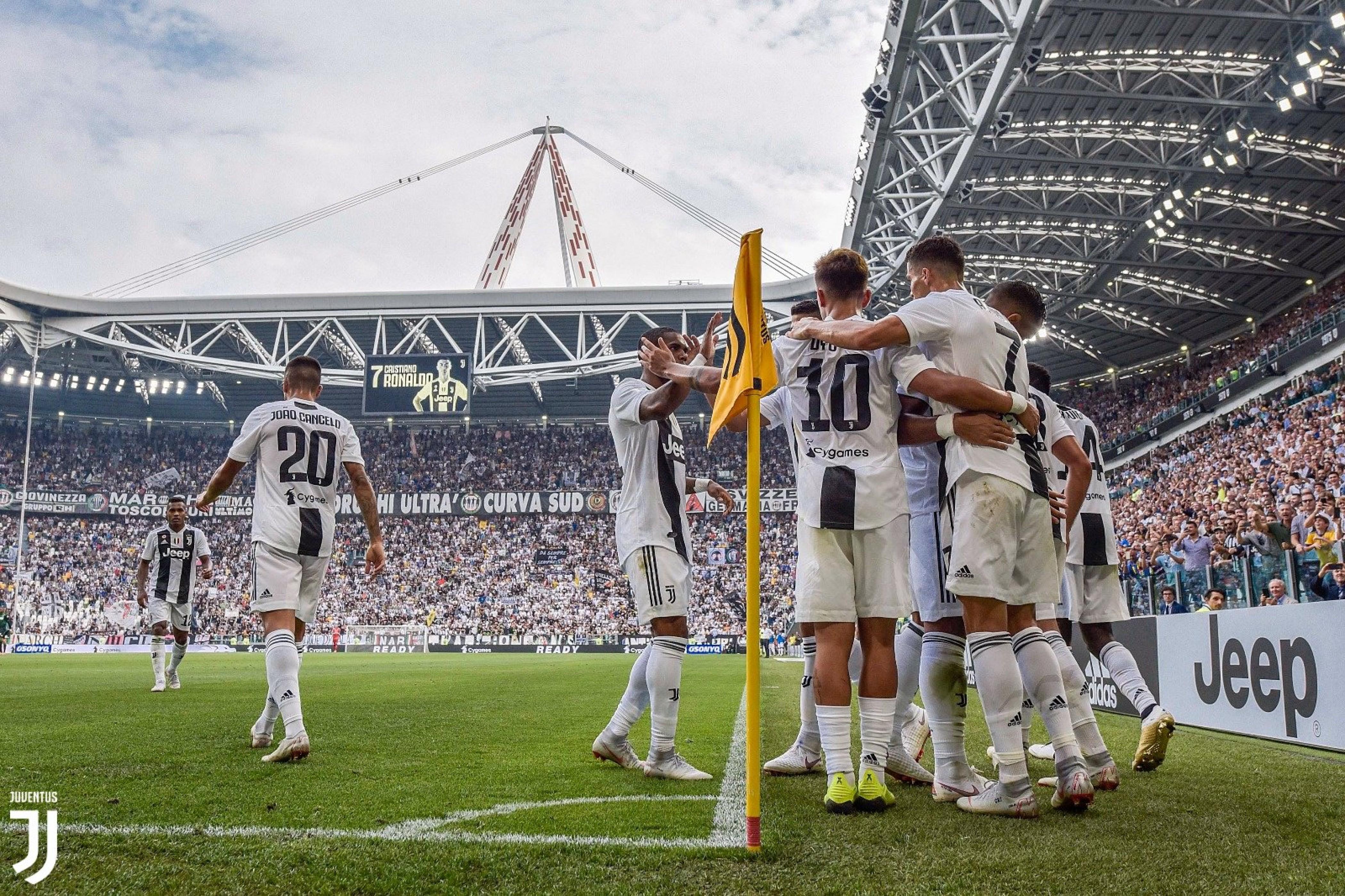 La Juve batte il Sassuolo, le parole di CR7, Cancelo ed Allegri
