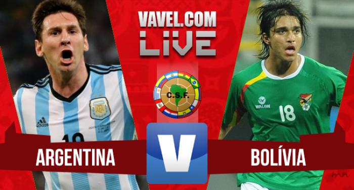 Argentina 2-0 Bolivia: Messi brilló en Córdoba