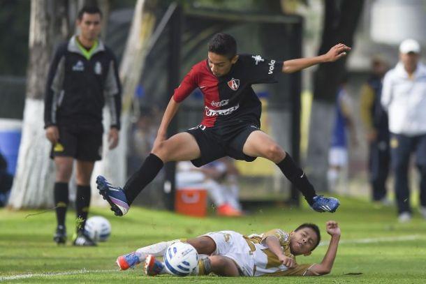 Pumas Sub-13 cae ante Atlas en penales