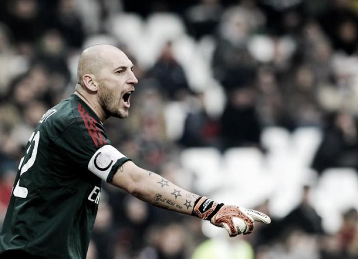 Milan, Abbiati dice basta: con la Roma sarà l'ultima a San Siro per il rossonero più presente tra i pali