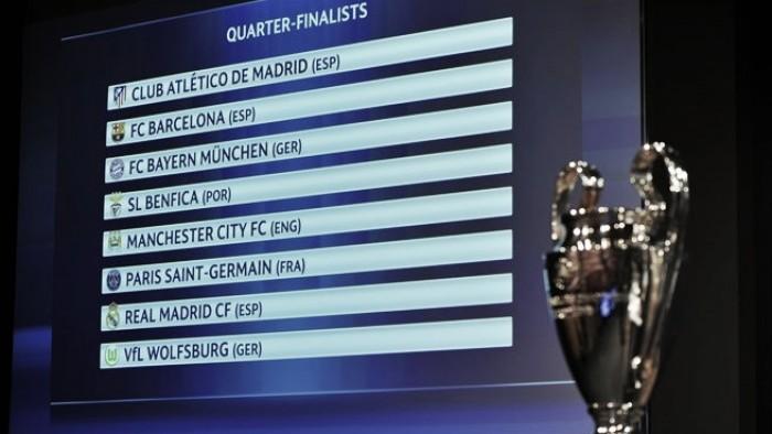 Sorteio Liga dos Campeões: Bayern Munique a caminho do Benfica; Barcelona defronta a «Besta Negra»