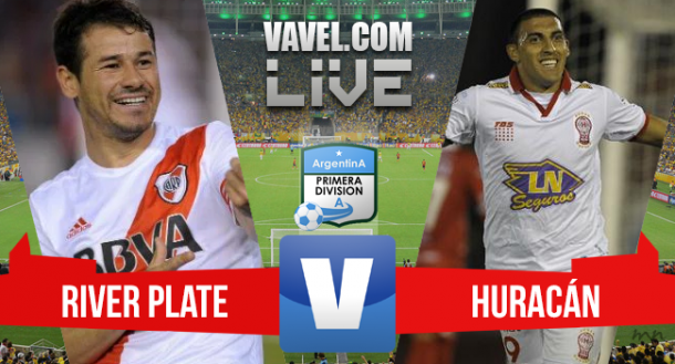 Resultado de River Plate x Huracán na Copa Sul-Americana 2015 (0-1)