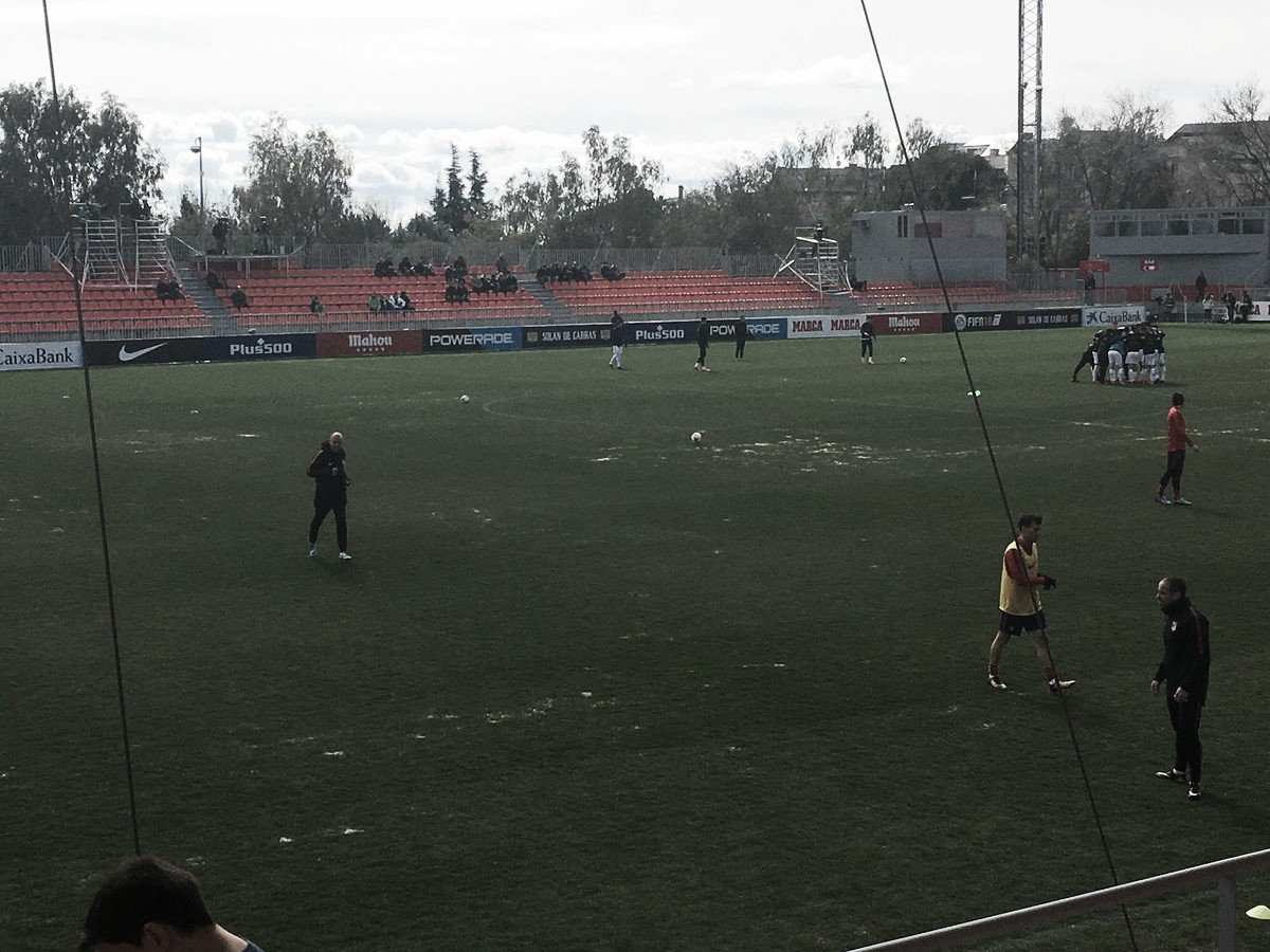 Atlético B y Rayo Majadahonda, con el enemigo en casa