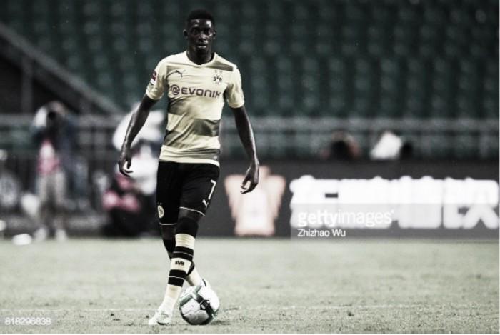 Dembélé castigado pelo Dortmund