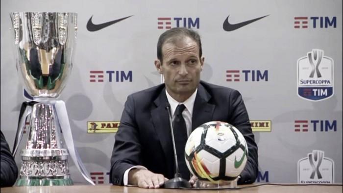 """Juventus - La voce di Allegri: """"La Lazio? Ha fatto un ottimo pre-campionato. Sulla formazione..."""""""