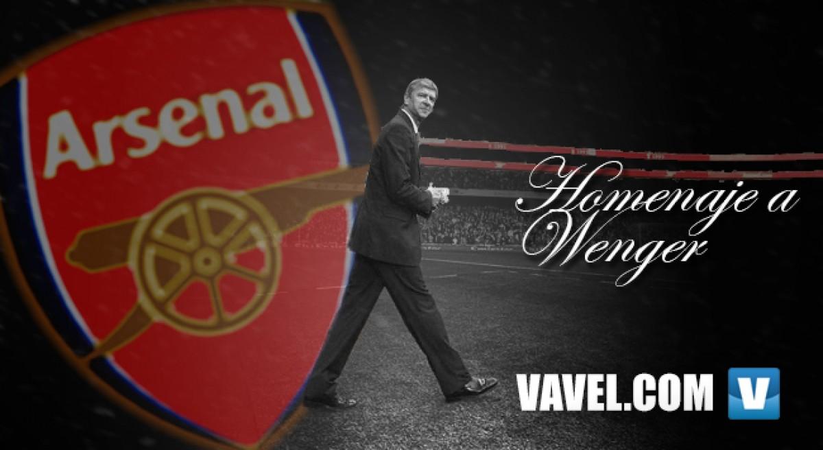Homenaje a Wenger