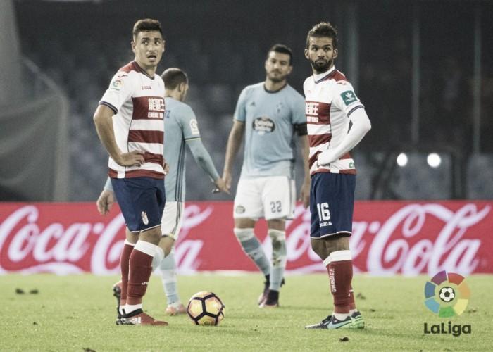 Solo dos victorias en la visita del Granada a Balaídos