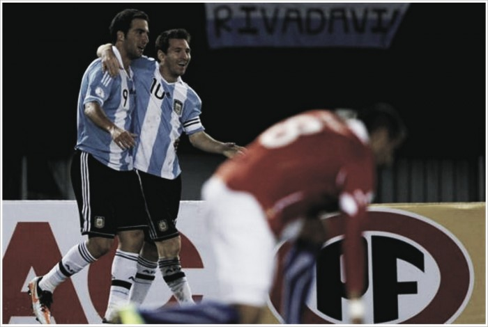 Argentina - Chile, en Núñez