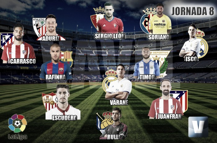 El Once de Oro de Vavel: 8ª jornada de La Liga