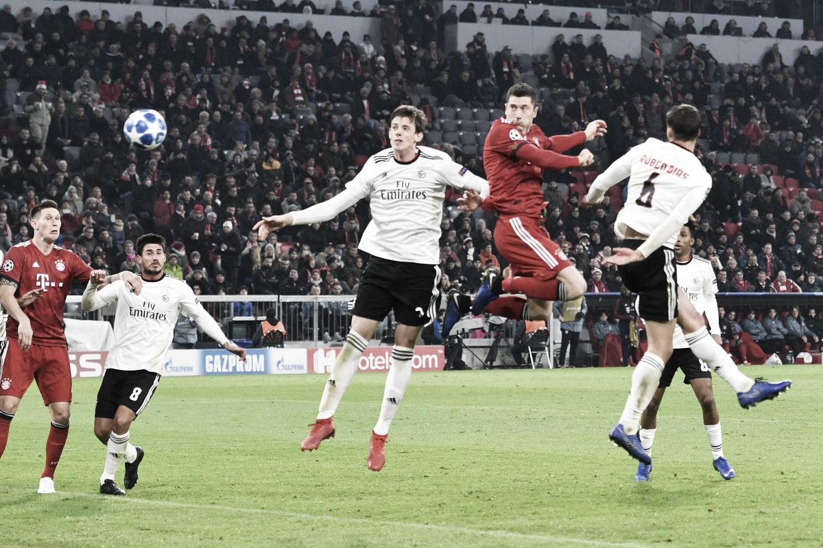 Trio ofensivo brilha, Bayern goleia Benfica e garante vaga nas oitavas de final da Champions League
