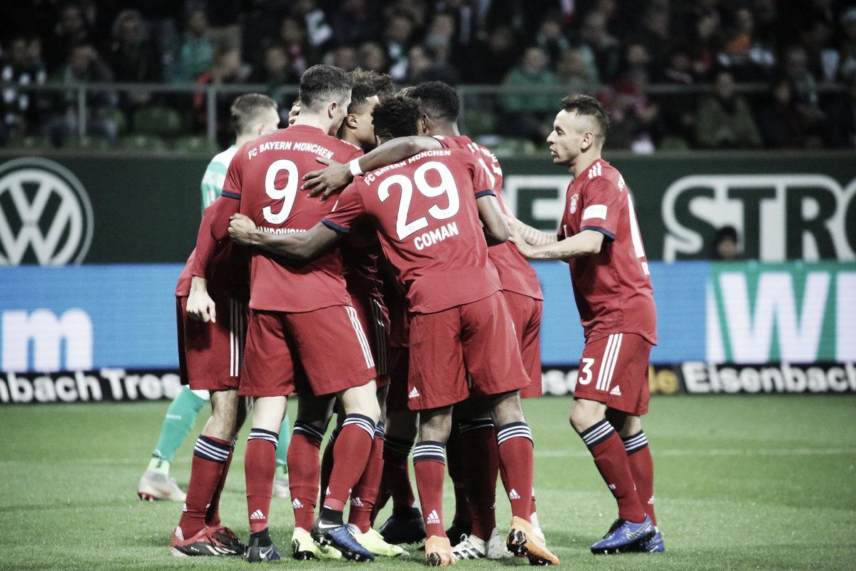 Bayern de Munique sofre, mas garante vitória sobre Werder Bremen com show de Gnabry