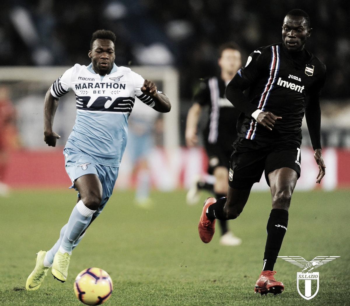 Em jogo com final movimentado, Sampdoria arranca empate contra Lazio no Olímpico