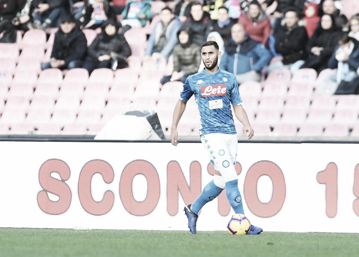 Após um ano fora dos gramados, Ghoulam celebra retorno e fala em orgulho de jogar no Napoli