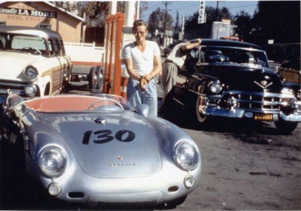 El Porsche 550 Spyder de James Dean y su maldito historial