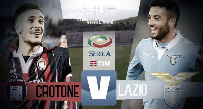 Terminata Crotone - Lazio in Serie A 2017 (3-1): Gli Squali sono salvi!