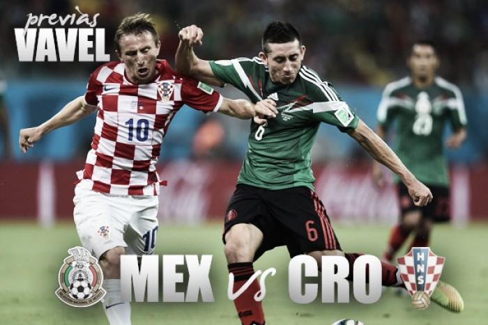 México vs Croacia: la previa, alineaciones y pronóstico