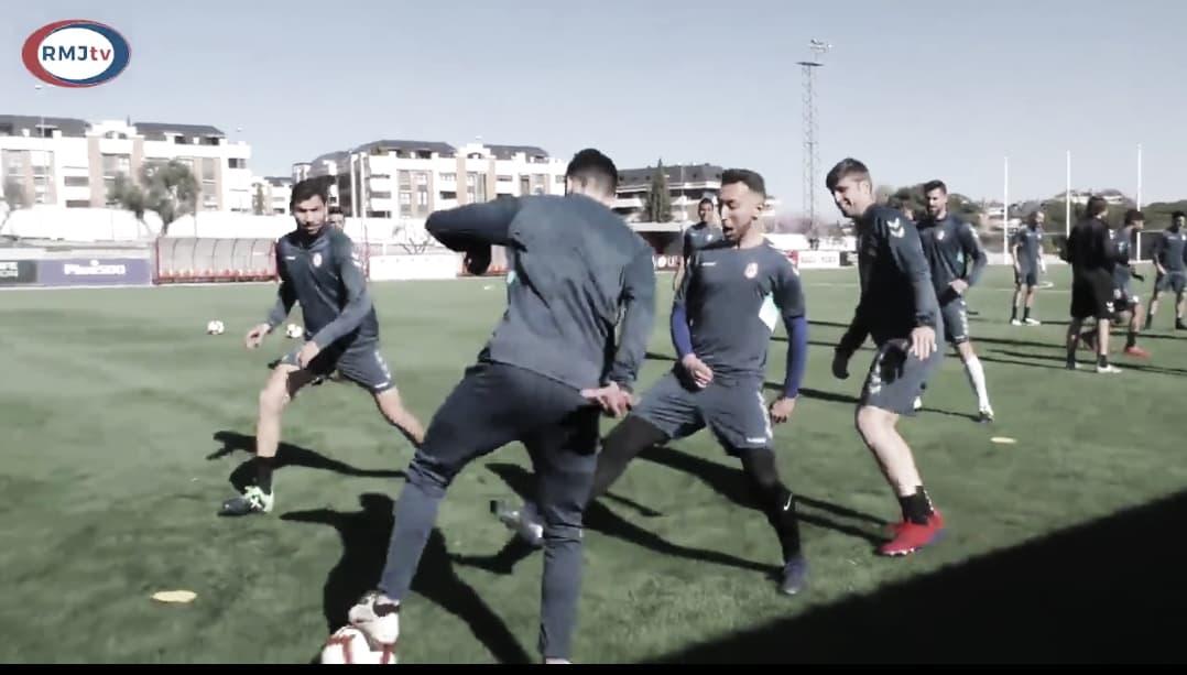 Penúltima sesión de cara al partido ante el Granada