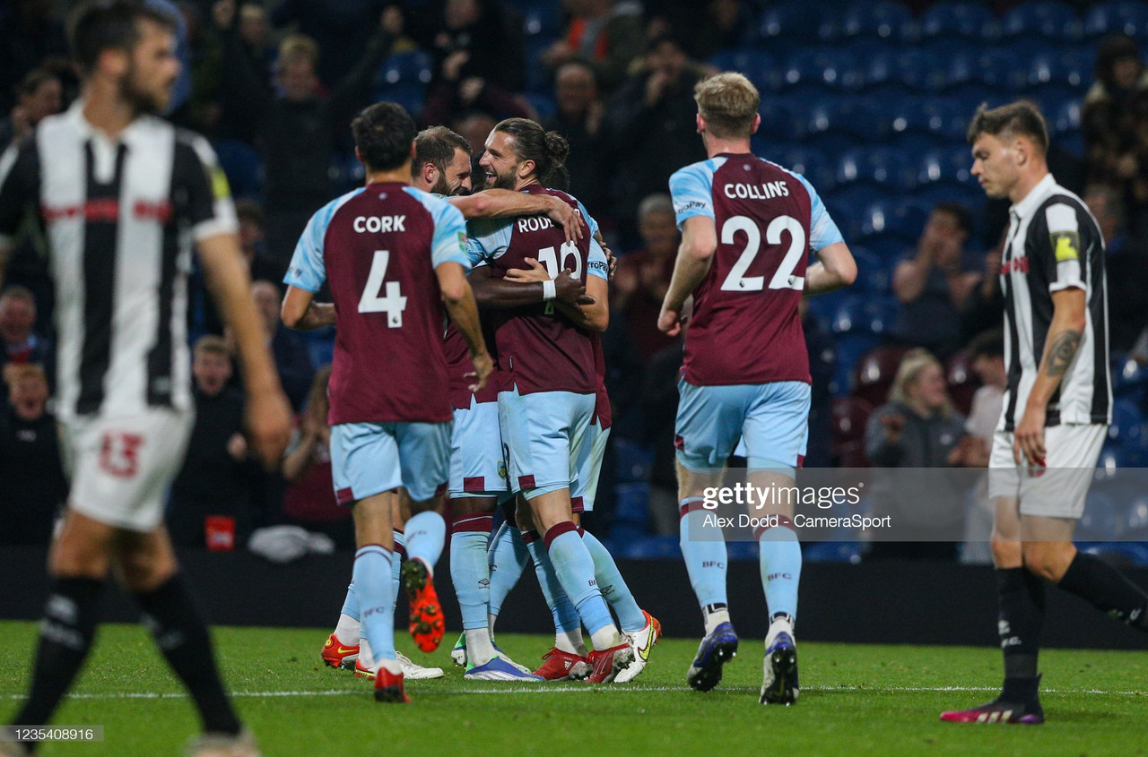 Burnley 4-1 Rochdale: Rampant Rodriguez steals the show as Clarets progress