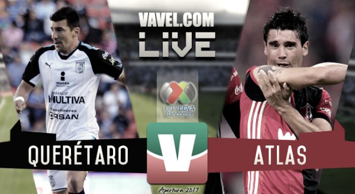Resultado y goles del Querétaro (2-2) Atlas