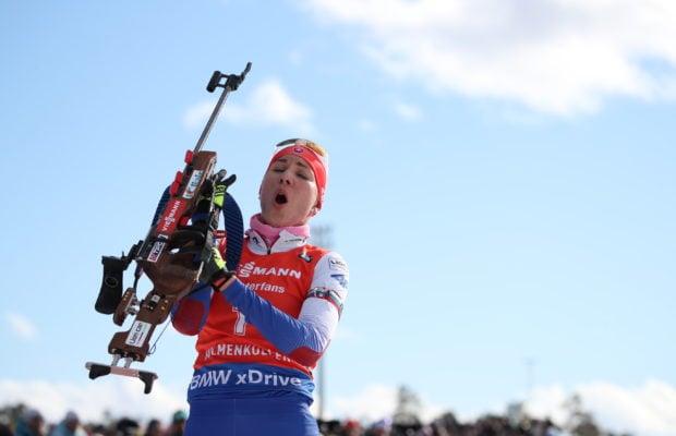 Kuzmina remporte le sprint d'Oslo.