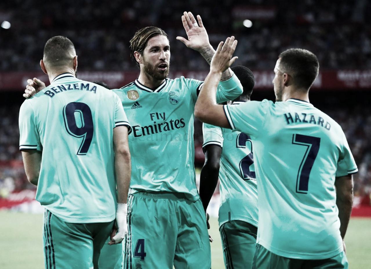 """Zidane: """"Hemos jugado con personalidad"""""""