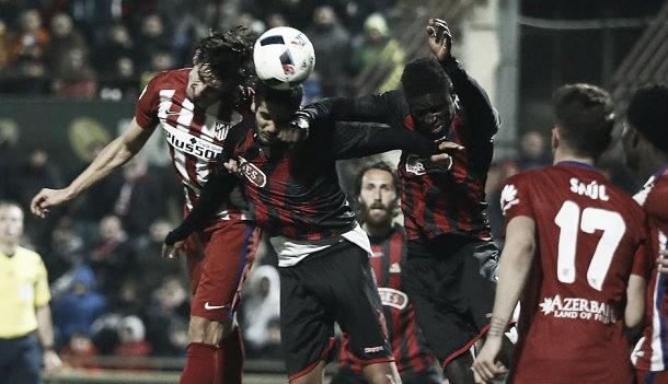 Atlético de Madrid - Reus (1-0): El Atleti supera el trámite