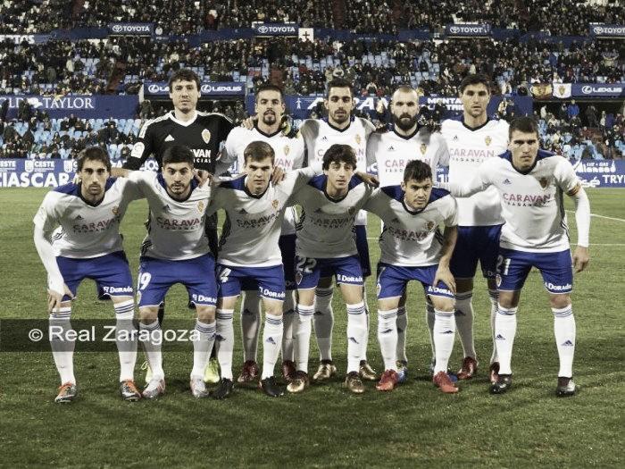 Real Zaragoza – Cádiz CF: puntuaciones Real Zaragoza, jornada 18 de la Liga 1,2,3