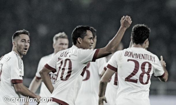 Carlos Bacca marcó en el empate del Milán