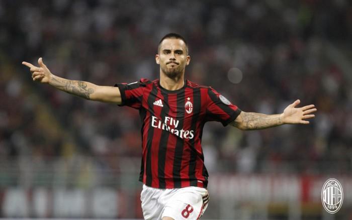 Suso chiede il cambio: infortunio in Napoli-Milan
