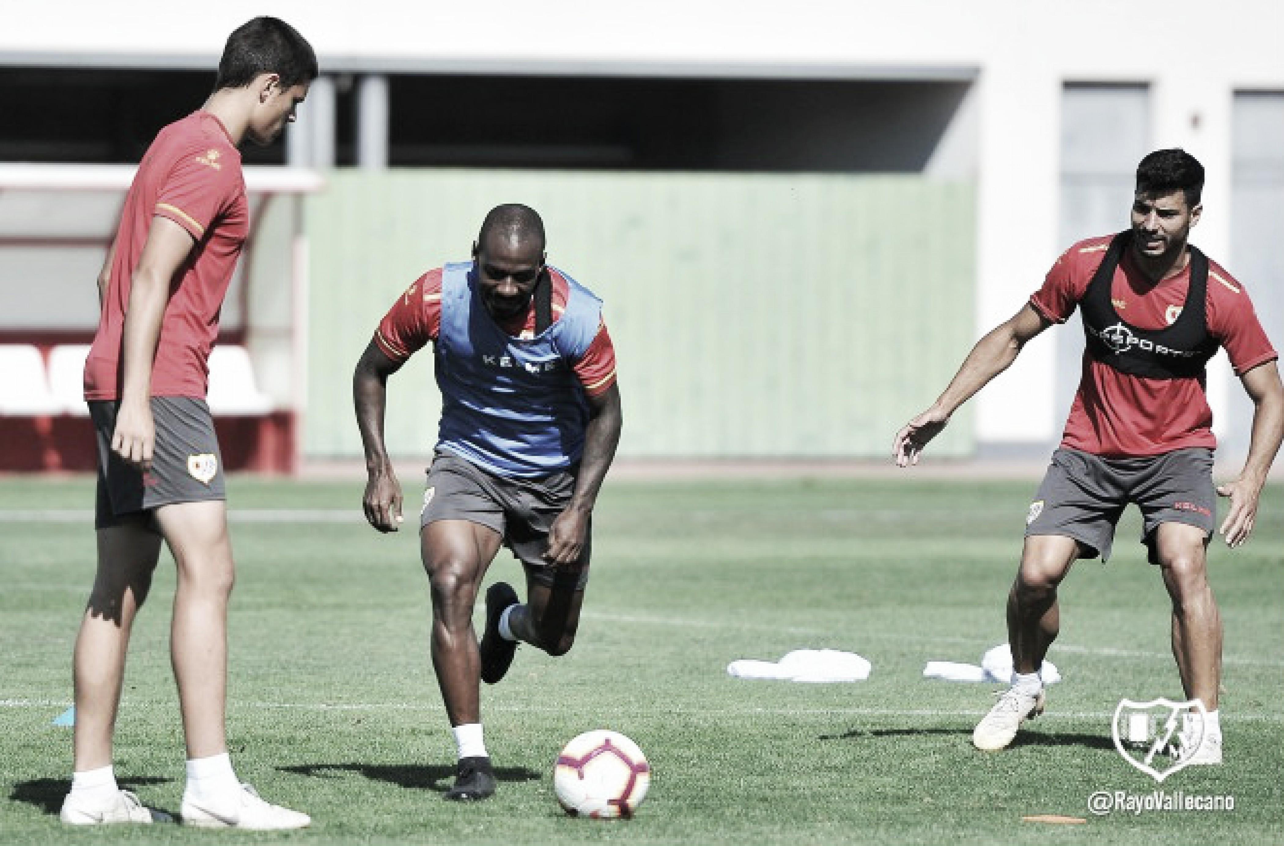 Doble sesión para empezar a preparar la semana ante el Huesca