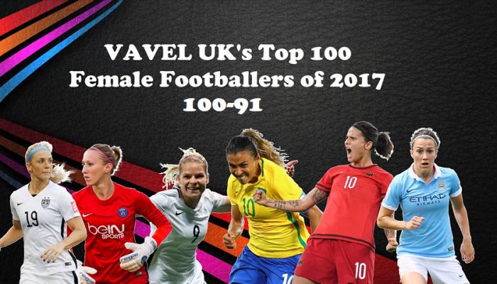 VAVEL UK's Top 100 Female footballers of 2017: 100-91