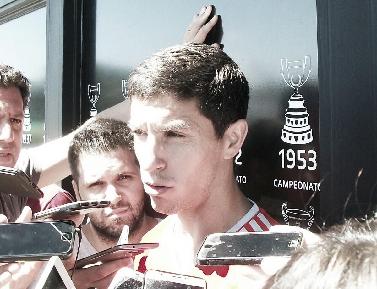 """Nacho Fernández: """"La posición en la que jugué el domingo me gusta y me hace sentir cómodo"""""""