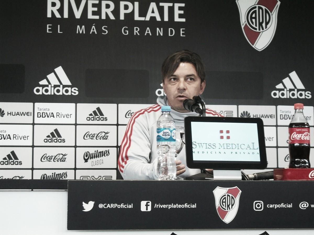 """Gallardo: """"Estoy muy conforme con el rendimiento del equipo"""""""
