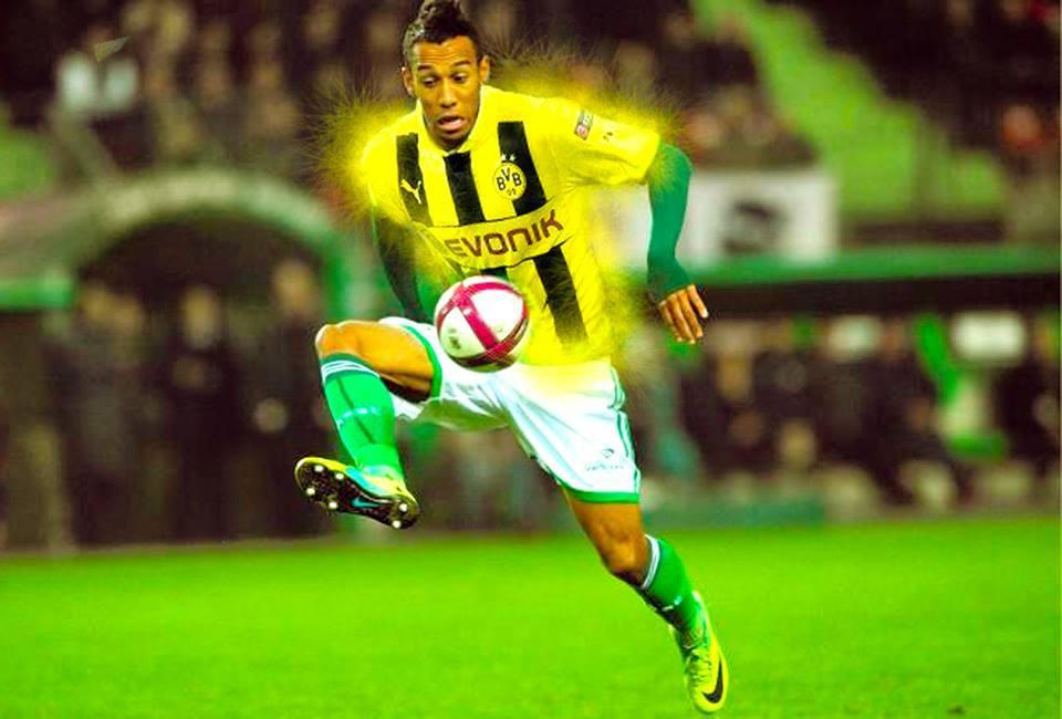 Borussia Dortmund fecha a contratação de Pierre-Aubameyang