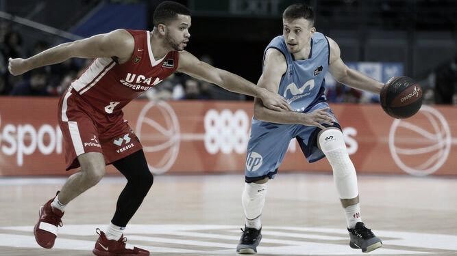 Avramovic, la temporada pasada ante UCAM Murcia // ACB Photo