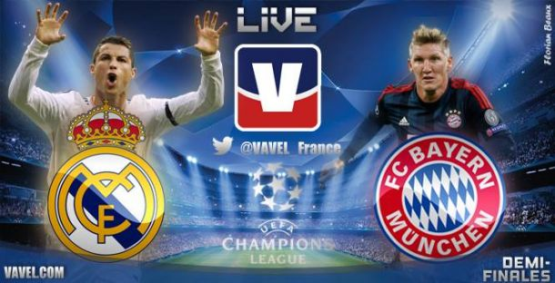Live Champions League : le match Real Madrid - Bayern Munich en direct