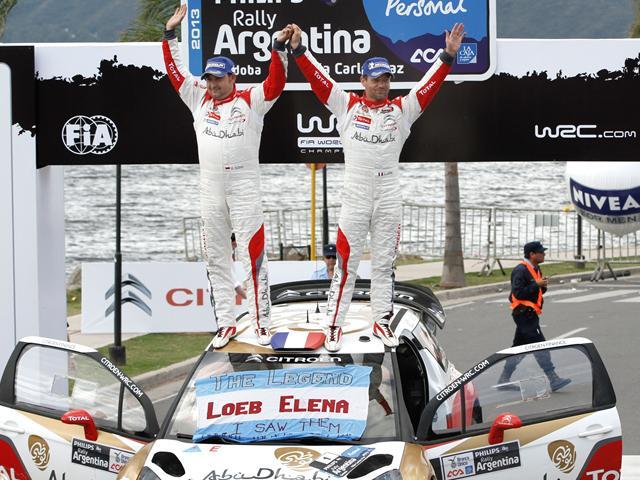 WRC / Argentine : Loeb sauve Citroën de VW