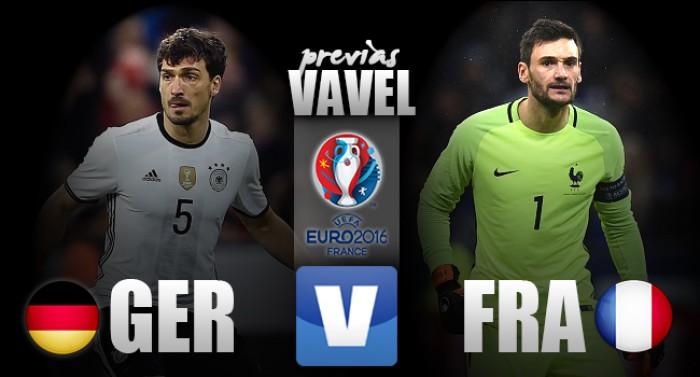 Alemanha e França se enfrentam para definir o segundo finalista da Eurocopa 2016