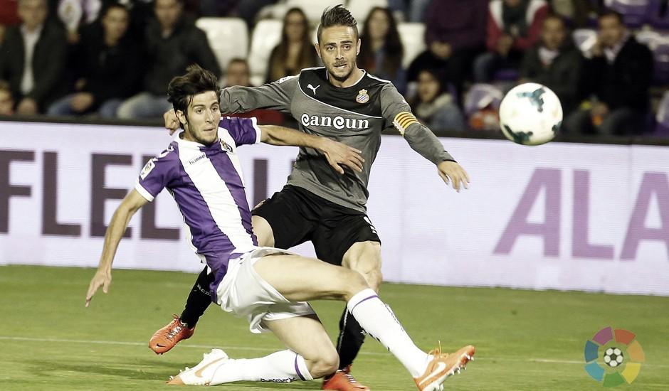 La posesión, crucial en el Espanyol-Real Valladolid