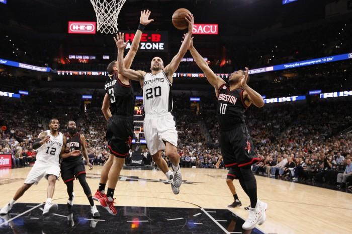NBA Playoffs: finale thrilling, San Antonio la spunta su Houston all'overtime (110-107)