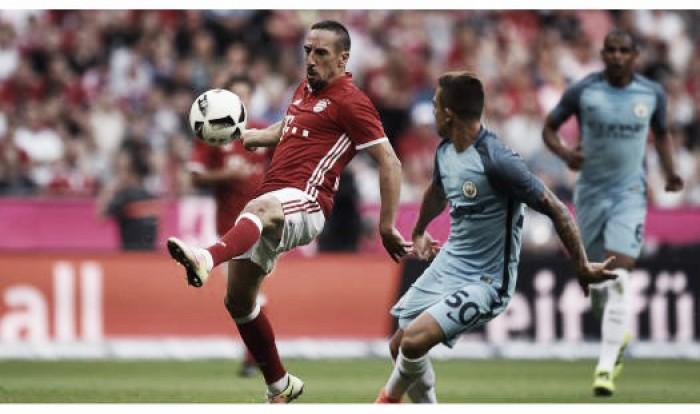 No retorno de Guardiola a Munique, Bayern vence City pelo placar mínimo em amistoso